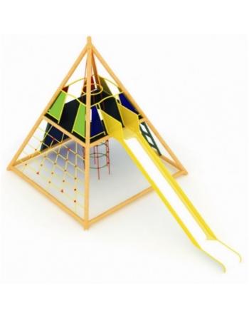 Piramida ze zjeżdżalnią