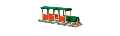 Lokomotywy, pociągi, wagony